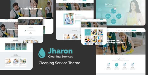 Jharon - Cleaning Service WordPress Theme + RTL - Business Corporate