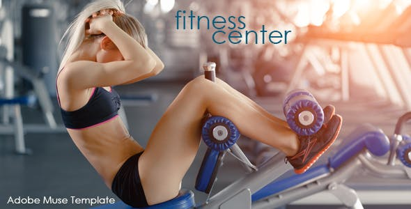 Download Fitness Center Muse Template