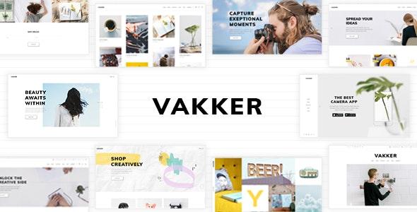 Vakker - Creative Design Agency Theme - Creative WordPress