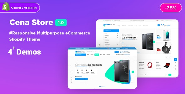 Cena | Multi - Purpose Sectioned Shopify Theme - Technology Shopify