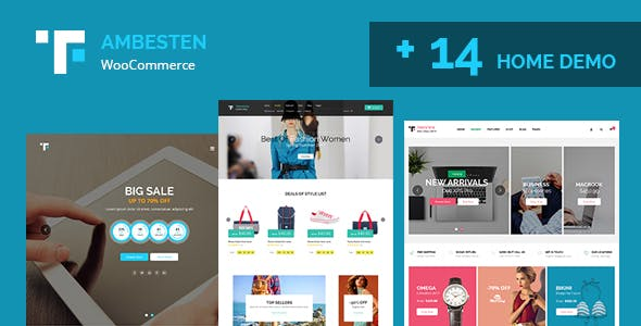 Ambesten - Multipurpose MarketPlace RTL WooCommerce WordPress Theme