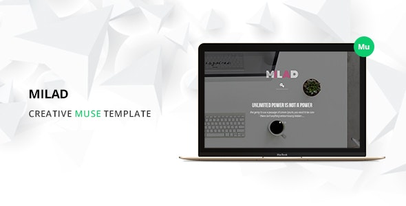 Milad Muse Template - Creative Muse Templates