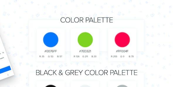 DesignUI E-Commerce Mobile App Ui Kit