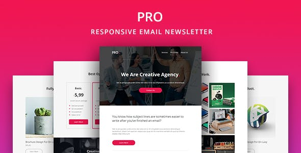 Pro - Agency Email Newsletter Template