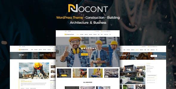 Nocont - Construction & Building WordPress Theme