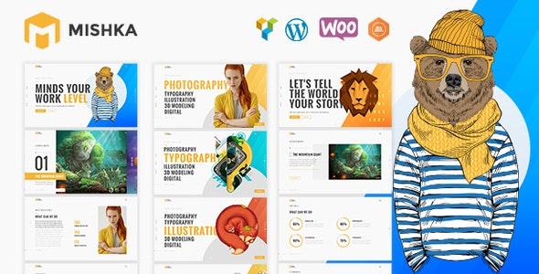 Mishka - Creative Portfolio - Portfolio Creative