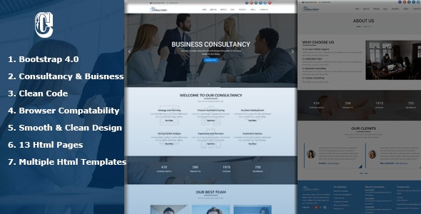 Dmax Consultancy -  Consultancy Service & Consulting Business Html Templates - Corporate Site Templates