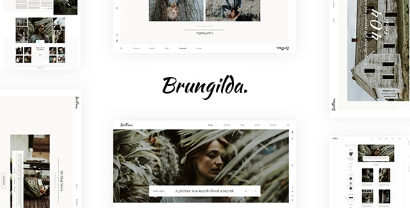 Brungilda - Photography WordPress theme - Photography Creative