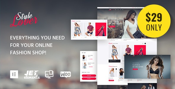 SolosShopy - Fashion Shop Elementor WooCommerce Theme - WooCommerce eCommerce