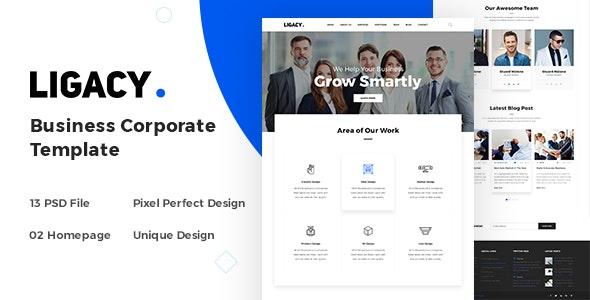 Ligacy - Business Corporate Template - Business Corporate