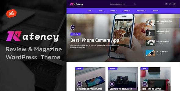 Ratency - Review & Magazine Theme - News / Editorial Blog / Magazine