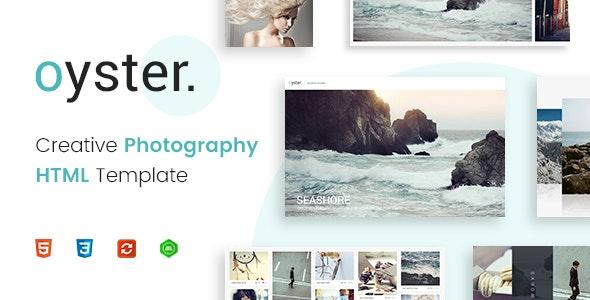 Oyster - Creative Photography HTML - Photography Creative