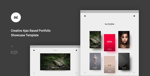 Wizzard - Creative Ajax Portfolio Showcase Template - Creative Site Templates