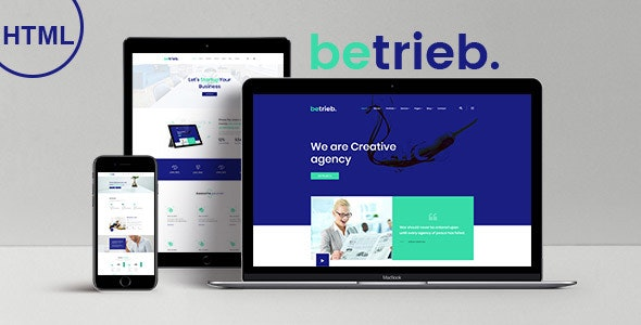 Betrieb - Responsive Business Agency HTML5 Template - Business Corporate
