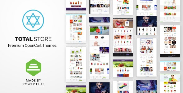 TotalStore - OpenCart Theme All-in-One Niche Stores - Shopping OpenCart