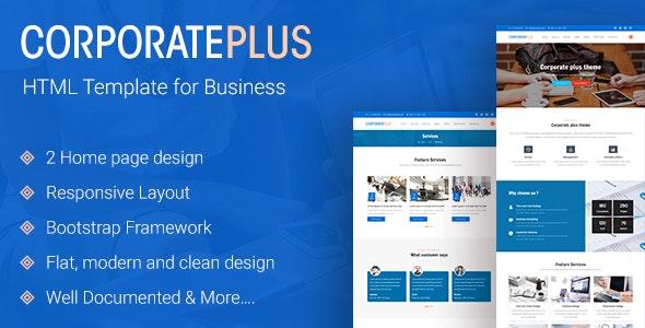 Corporate Plus | Multipurpose Business HTML Template - Business Corporate