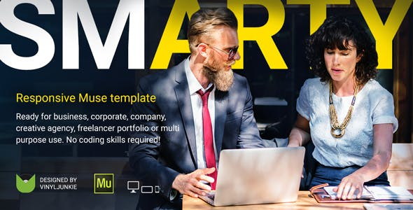 Download SmArty - Multipurpose Responsive Muse Template