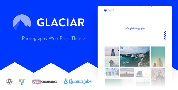 Glaciar - Photography WordPress Theme - Photography Creative
