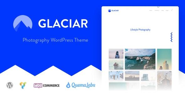 Glaciar - Photography WordPress Theme - Photography Creative