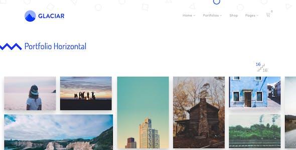 Glaciar - Photography WordPress Theme