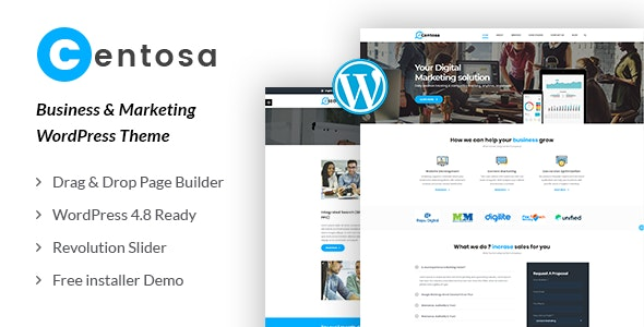 Centosa - Business & Marketing WordPress Theme - Marketing Corporate