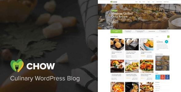 Chow - Recipe & Food WordPress Theme - Food Retail