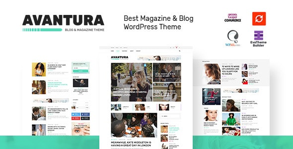 Avantura - Magazine & Blog WordPress Theme - Blog / Magazine WordPress