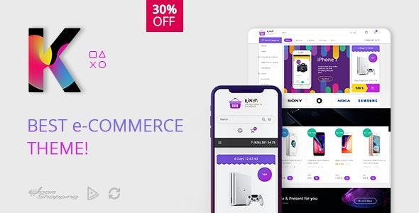 Kinza - Responsive Multipurpose JoomShopping Theme - Retail Joomla