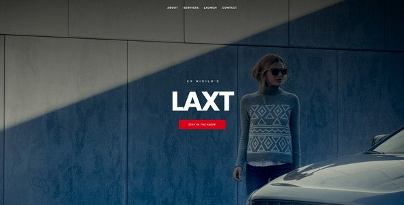 Laxt || Under Construction / Coming Soon Template - Under Construction Specialty Pages
