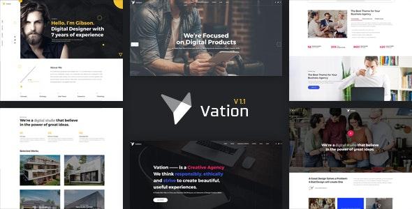 Vation | Responsive Multi-Purpose HTML5 Template - Business Corporate