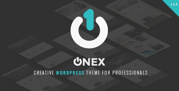 OneX Corporate & Business Portfolio Theme - Corporate WordPress