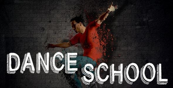 Dance School Muse Template - Creative Muse Templates
