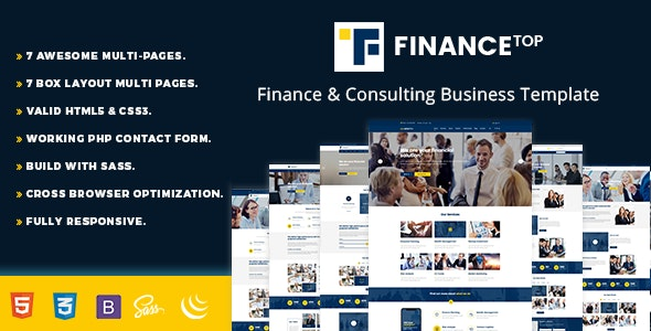 Finance Top - Consulting - Business Corporate