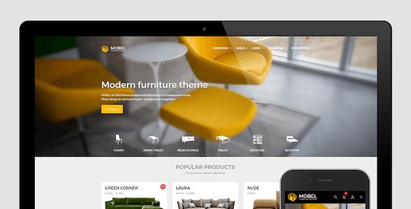 Mobel - Furniture HTML Template
