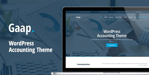 Gaap - WordPress Accounting Theme - Business Corporate