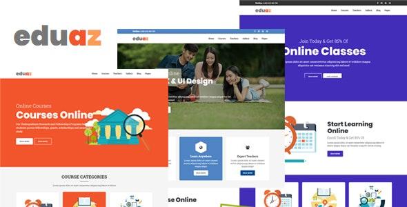 Eduaz - Education HTML Template - Business Corporate