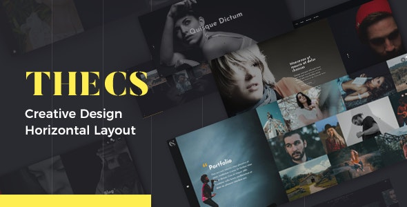 Thecs - Portfolio WordPress Theme - Portfolio Creative