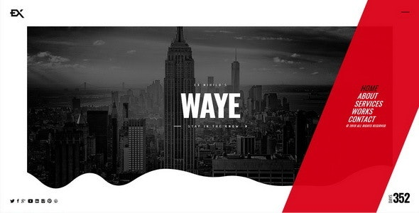 Waye    Under Construction / Coming Soon Template - Under Construction Specialty Pages