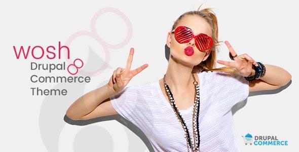 Wosh Drupal 9 Commerce Theme - Drupal CMS Themes