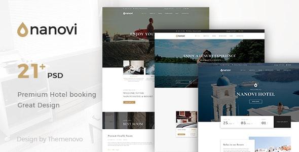 Nanovi - Resort and Hotel Template - Travel Retail