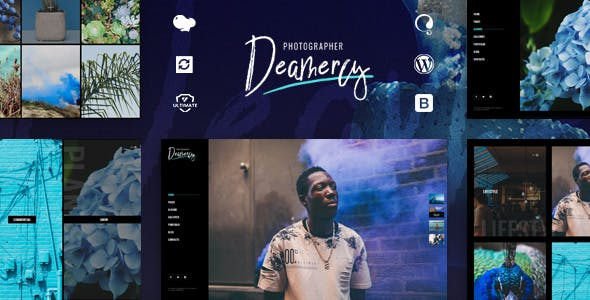 Deamercy - Photography Portfolio WordPress Theme