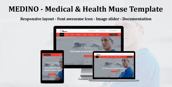 MEDINO - Medical & Health Muse Template