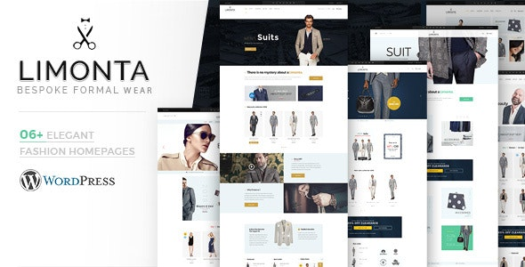 Limonta - Modern Fashion WooCommerce WordPress Theme - WooCommerce eCommerce