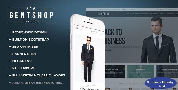 Ap Gentshop - Shopify Responisive Theme