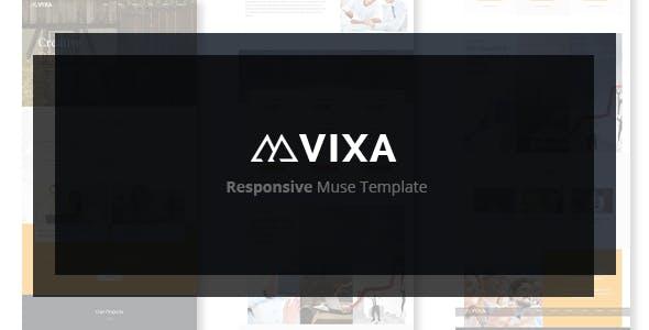 Vixa - Responsive Multi-Purpose Muse Template