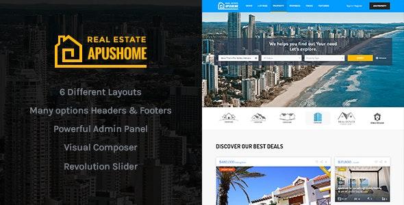ApusHome - Real Estate WordPress Theme - Real Estate WordPress