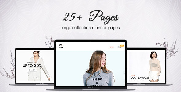 QCShop - ECommerce HTML Template - Shopping Retail
