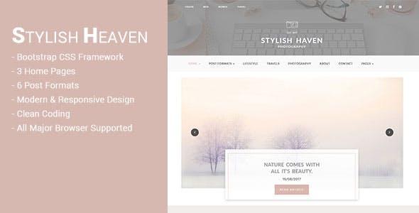 Stylish Heaven - Personal Blog - HTML Template