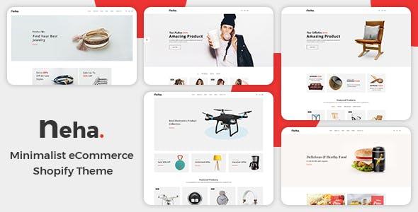 Multipurpose Responsive Shopify Theme - Neha