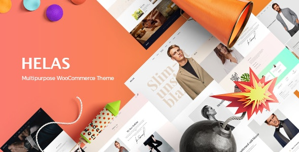 Helas - Multipurpose WooCommerce Theme - WooCommerce eCommerce